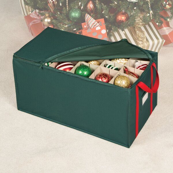 Holiday 54 Compartment Ornament Storage by Richard