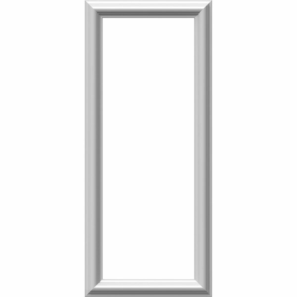 Ashford 28H x 12W x 1/2D Molded Classic Wainscot Wall Panel by Ekena Millwork