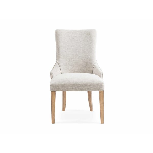Boyne Upholstered Dining Chair (Set of 2) by Wrought Studio