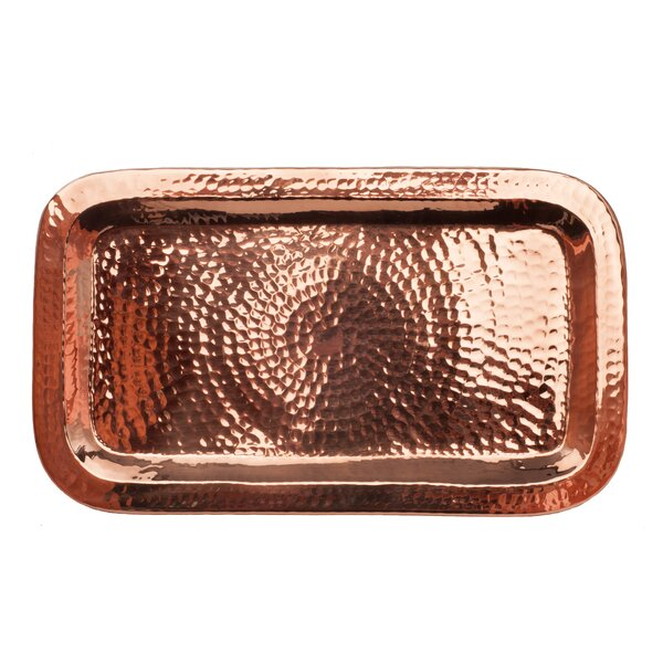 Charolita Serving Tray by Sertodo Copper