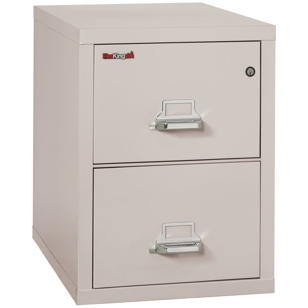 Legal 2 Drawer Vertical Filing Cabinet by FireKing