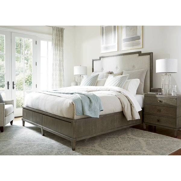 Harmony Upholstered Panel Bed by Birch Lane™
