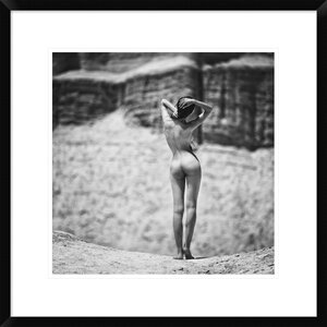 'Silence of Rocks' by Zachar Rise Framed Photographic Print by Global Gallery