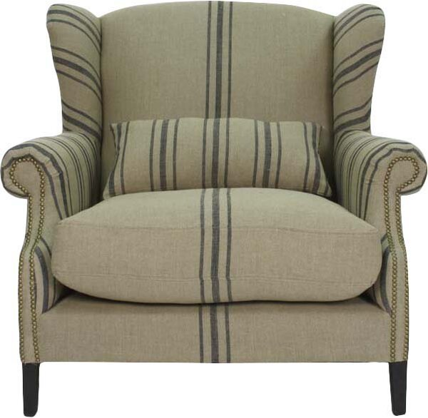 Leon Wingback Chair By Zentique