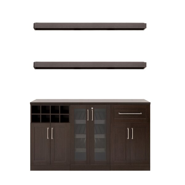 Home Bar 6 Piece Cabinet Set - 21-inch by NewAge Products NewAge Products