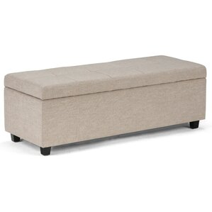castleford upholstered storage bench