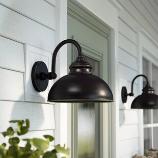 Barn light outdoor wall lighting youll love wayfair save to idea board workwithnaturefo
