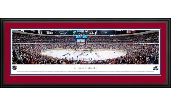 NHL Center Ice Deluxe Framed Photographic Print by Blakeway Worldwide Panoramas, Inc