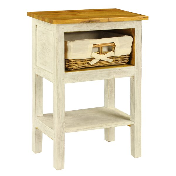 Bella 1 Drawer Nightstand by Antique Revival