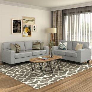 Exantus 2 Piece Living Room Set by Latitude Run®