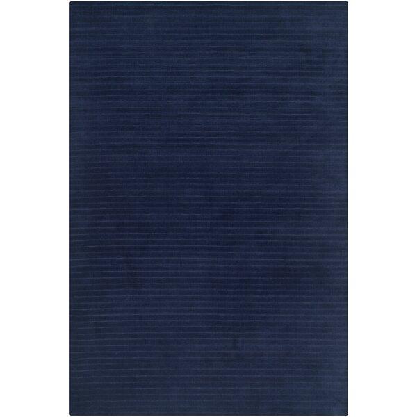 Upper Deck Handwoven Flatweave Wool Navy Blue Area Rug by Lauren Ralph Lauren
