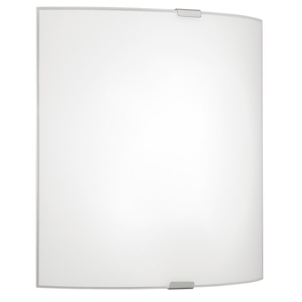 Ernestina 1-Light Flush Mount by Latitude Run