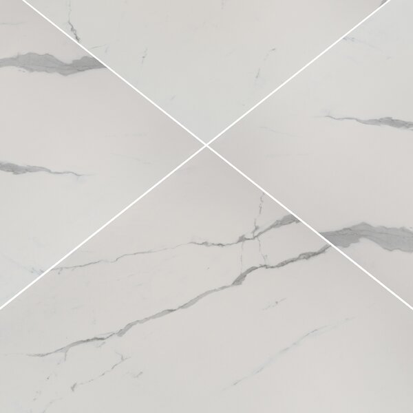 32 x 32 Porcelain Field Tile in Eden Statuary by MSI