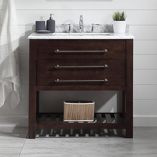 Harry 36 Single Bathroom Vanity Set by Ove Decors