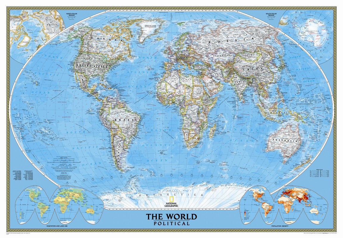 Kids world map wayfair mural world map gumiabroncs Image collections