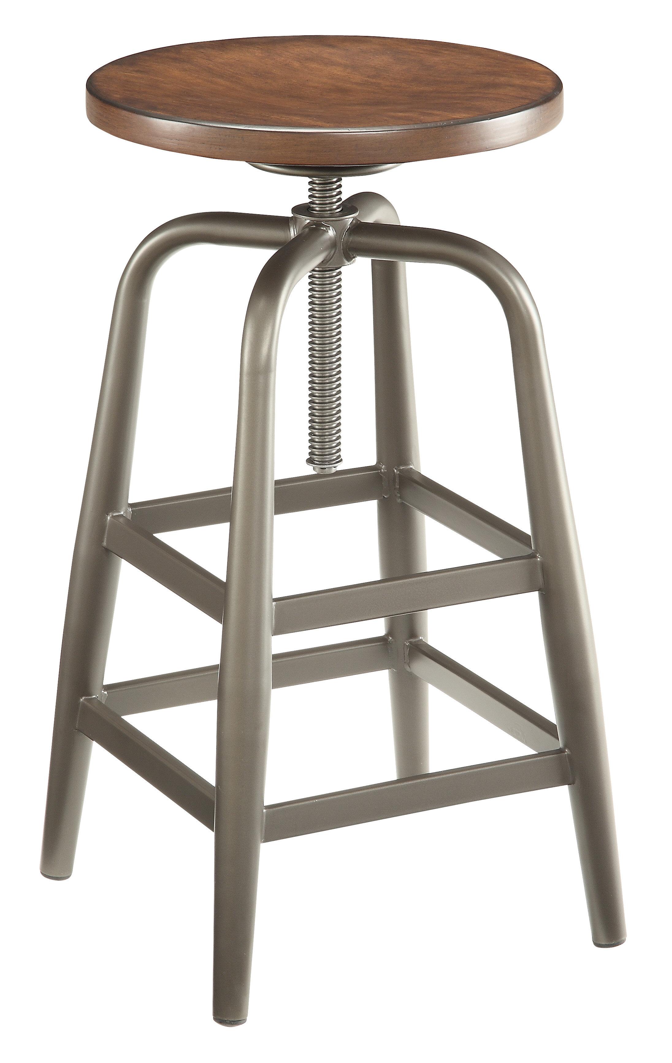 Wondrous Berger Adjustable Height Swivel Bar Stool Gamerscity Chair Design For Home Gamerscityorg