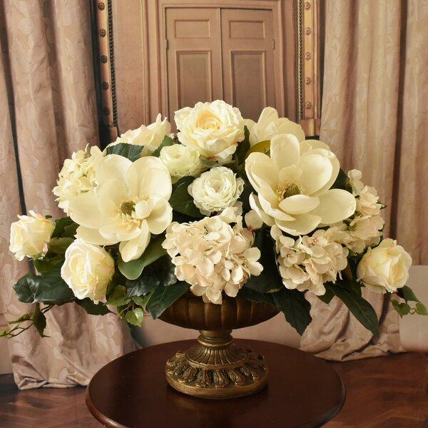Grande Mixed Centerpiece in Vase by Astoria Grand