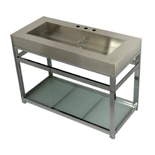 Fauceture Metal 49 Console Bathroom Sink By Kingston Brass