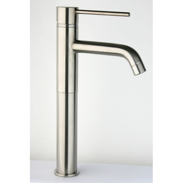 Single Handle Kitchen Faucet with Pop-up Drain by Just Manufacturing
