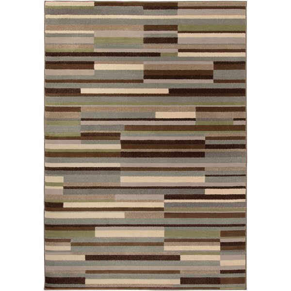 Katia Gray/Beige Area Rug by Langley Street