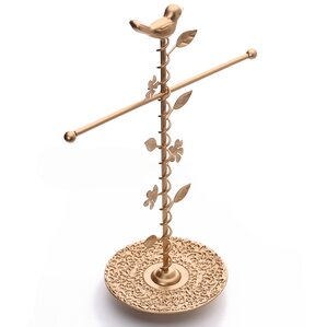 T-bar Jewelry Stand Organizer by Bungalow Rose