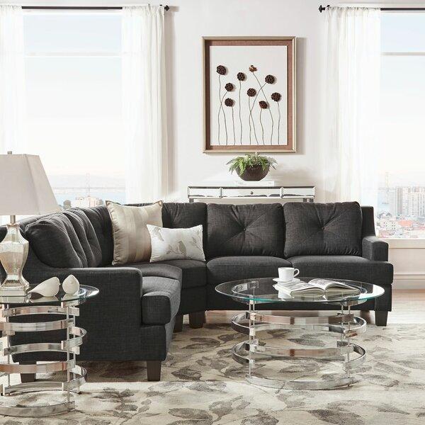 Doane 6 Seat Symmetrical Sectional by Brayden Studio