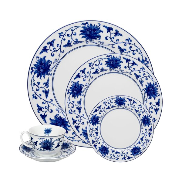 Lazuli 5 Piece Place Setting, Service for 1 by Vista Alegre