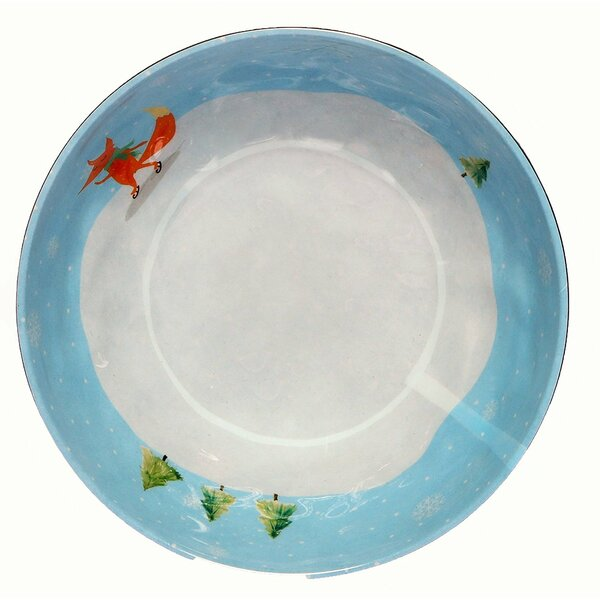 Winter Fox 18 oz. Melamine Cereal Bowl (Set of 36) by The Holiday Aisle