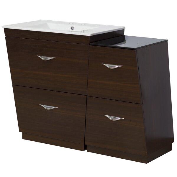 Dudelange 41 Single Bathroom Vanity Set