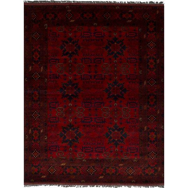 One-of-a-Kind Lelia Handmade Wool Red Area Rug by Bloomsbury Market