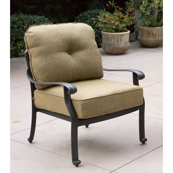 Lebanon Deep Seating Club Chair Frame by Three Posts