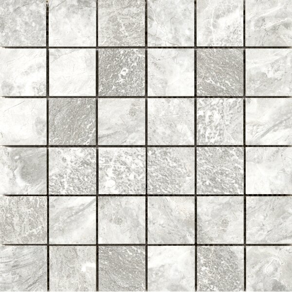 Vienna 2 x 2 Porcelain Mosaic Tile in Brahmms by Emser Tile