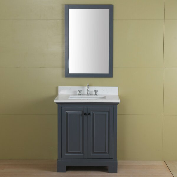 Stetson 30 Single Bathroom Vanity Set by Darby Home Co