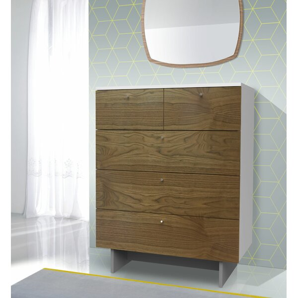 Roh 5 Drawer Dresser by Spot On Square