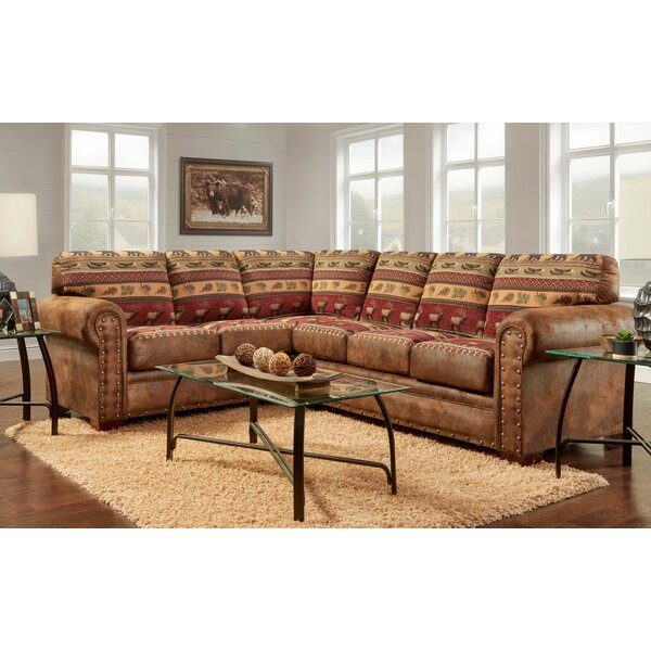 Josie Symmetrical Sectional by Millwood Pines
