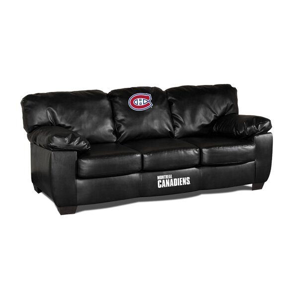 NHL Classic Leather Sofa by Imperial International