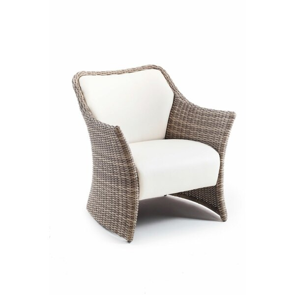 Dukinfield Patio Chair with Cushions by Corrigan Studio