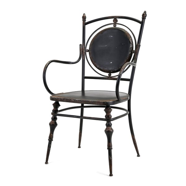 Sherry Metal Dining Chair (Set Of 2) By Gracie Oaks