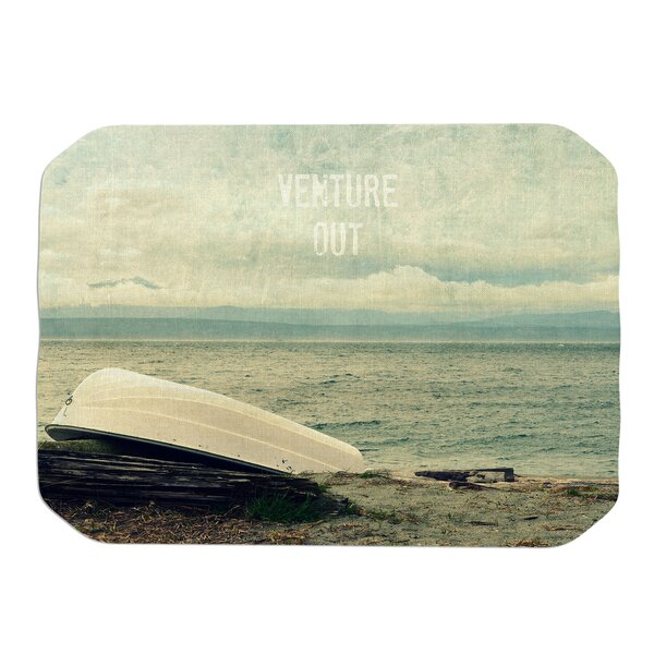 Robin Dickinson Venture Out Boat Placemat by East Urban Home
