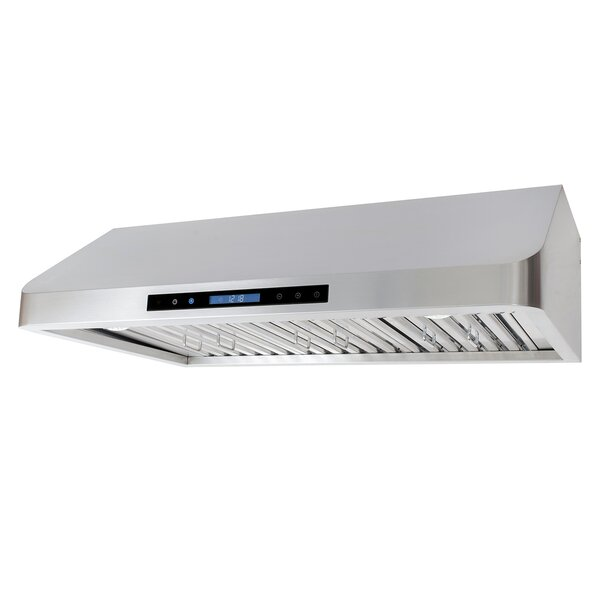 36 900 CFM Ducted Under Cabinet Range Hood by Cosmo