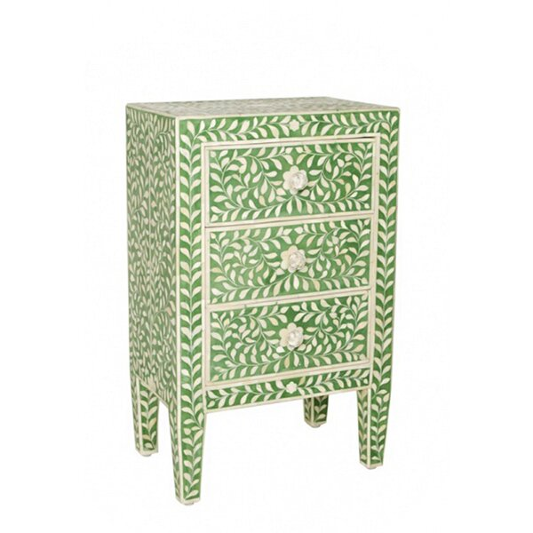 Matafao 3 Drawer Chest by Bungalow Rose