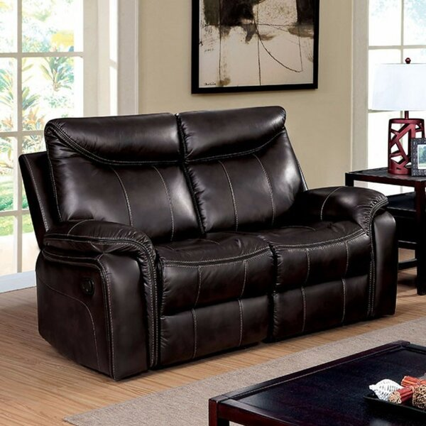 Prange Breathable Reclining Love Seat by Winston Porter