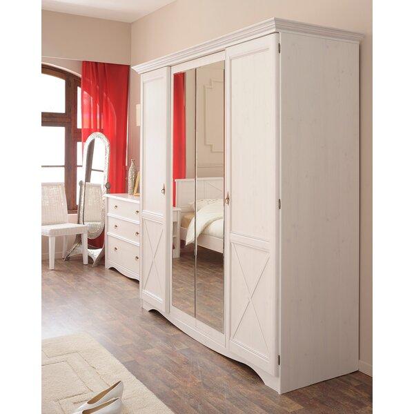 Pippa 4 Door Armoire by Rosalind Wheeler