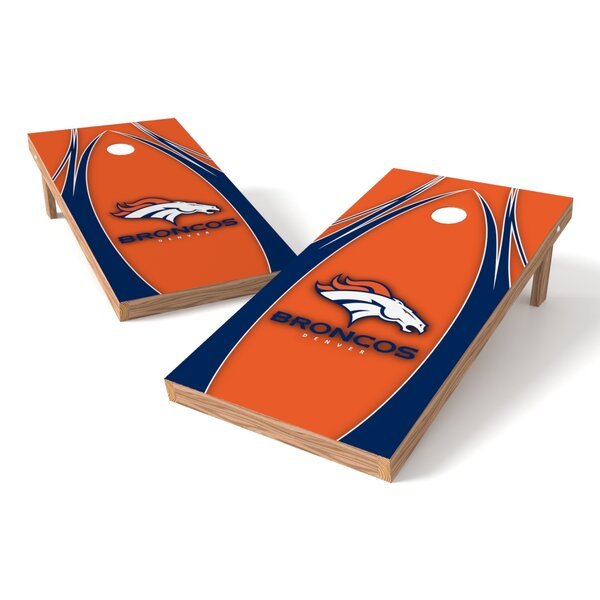 NFL Game Cornhole set by Tailgate Toss