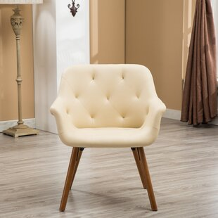 Faux Cowhide Accent Chair | Wayfair
