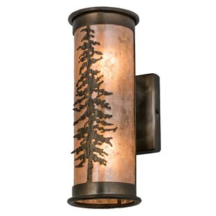 Compare prices Yair 2-Light Outdoor Sconce By Loon Peak