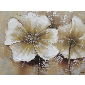 'Full Bloom' Painting on Canvas by Andover Mills