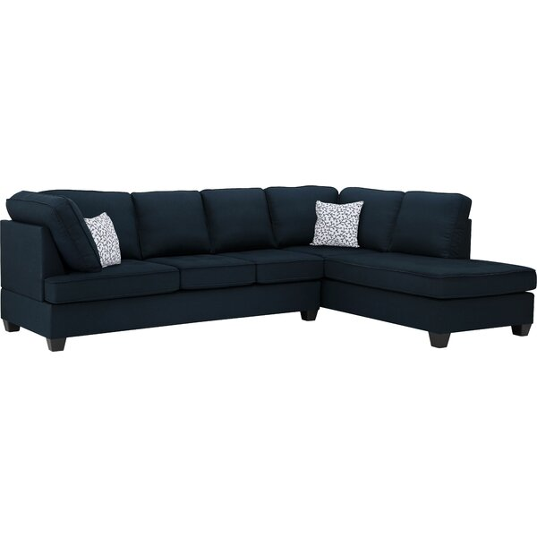 Beoll Reversible Sectional by Ebern Designs
