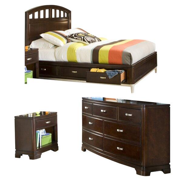 Jami Platform Wood Configurable Bedroom Set by Harriet Bee