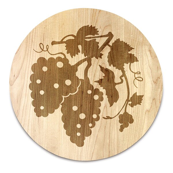 The Vineyard Round Grape Cluster Serving Board by Martins Homewares